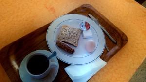 Marwa had an English breakfast today :-)