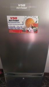 Marwa's fridge: Keep your hands off or you'll be in danger :-p