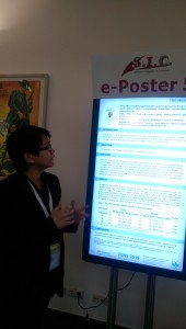 e-Poster sessions take over the traditional printed poster sessions.A good idea to promote green technology!