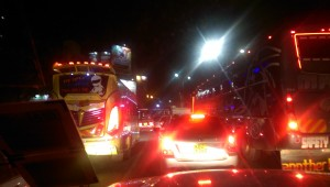 Crazy Downtown Nairobi traffic