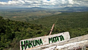 Hakuna Matata in the Great Rift Valley viewpoint