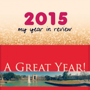 2015:A great year