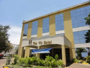 The conference hotel where we also stayed