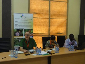 Prof.CB charing one of the conference sessions
