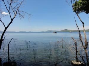Mbita's private view on lake Victoria