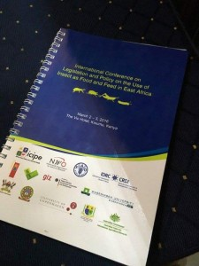 The conference booklet