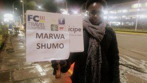 Here comes Marwa Shumo :-)