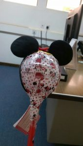 My beloved supervisor Fathiya who missed me as much as I did. Who wouldn't miss a Mini Mouse anyways