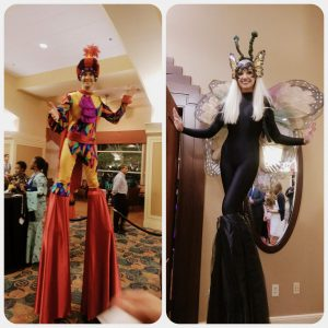 Circue I-C-E: The circus themed conference Gala Dinner