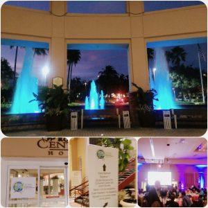 The Gala Dinner venue: Rosen Centre