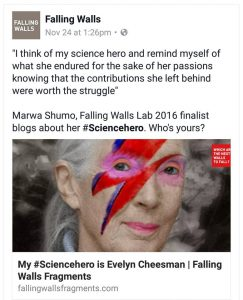 #My Science hero is the late entomologist and travel writer Evelyn Cheesman bcgfbg