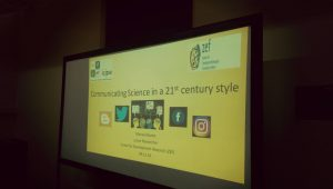 Communicating Science in a 21st century style.. My talk at icipe's science club